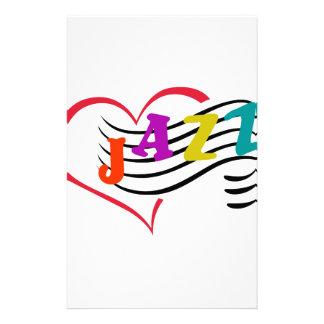 Jazz Lover Stationery Design