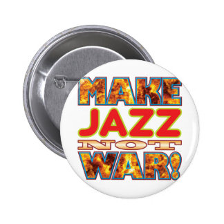 Jazz Make X 6 Cm Round Badge