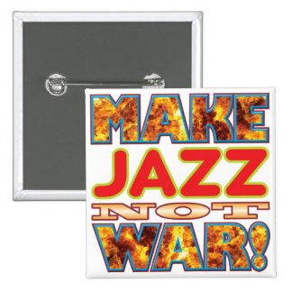 Jazz Make X 15 Cm Square Badge