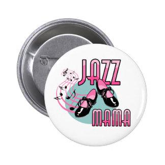 Jazz Mama Tap Dancing 6 Cm Round Badge