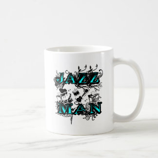 Jazz man jazz coffee mug