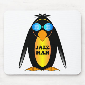 Jazz Man Mouse Pad