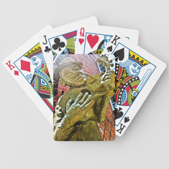 Jazz Man Poker Playing Cards