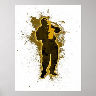 Jazz Man Print