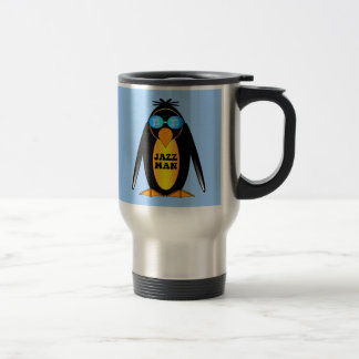 Jazz Man Travel Mug