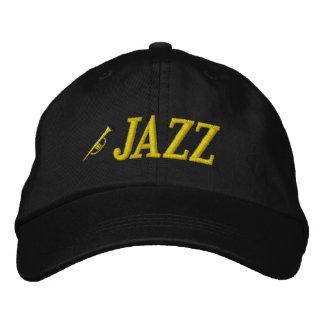 Jazz Music Embroidered Hat