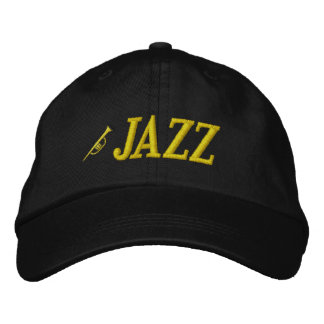 Jazz Music Embroidered Hat