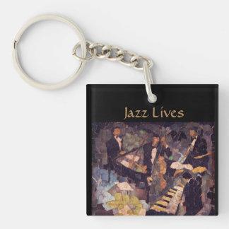 Jazz Music Lives - The Quartet Keychain