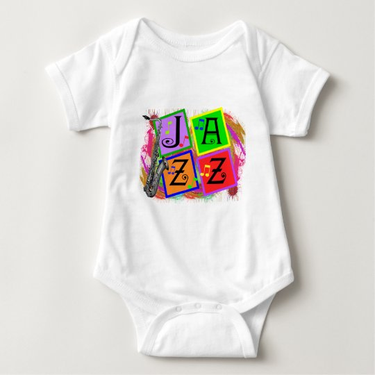 Jazz Music Lovers Gifts Baby Bodysuit