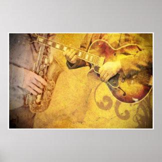 Jazz Musicians Art Poster