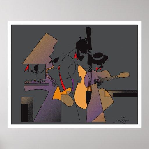 Jazz & Nightshades Poster