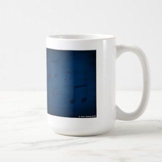 Jazz on Blue Art Mug