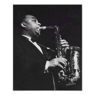 Jazz Player Poster