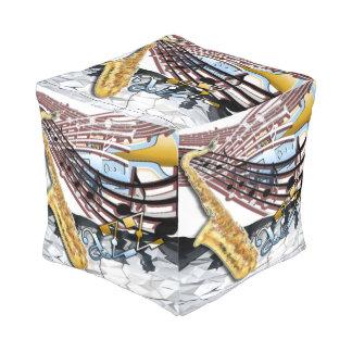 Jazz Pouf Cube Pouf