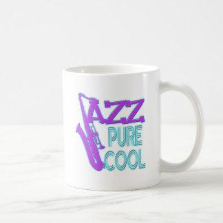 JAZZ PURE COOL CLASSIC WHITE COFFEE MUG