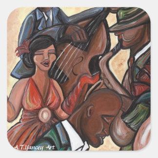 Jazz Quartet Sticker
