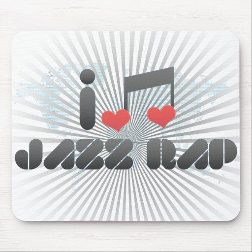 Jazz Rap Mouse Pad