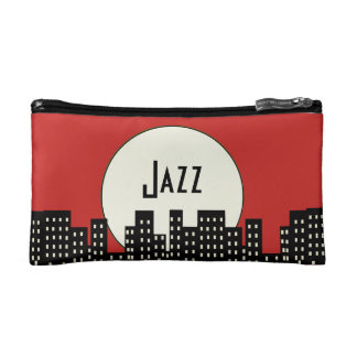 Jazz (red) makeup bag