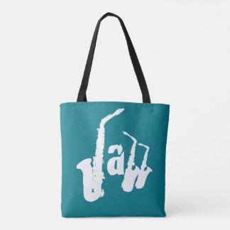 Jazz Sax Choose your color background Bag 2 Tote Bag