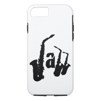 Jazz Sax Choose your color background Iphone Case1 iPhone 7 Case