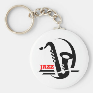 Jazz Sax Key Ring