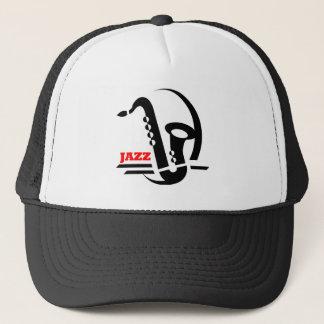 Jazz Sax Trucker Hat