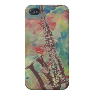 jazz saxophone cover for iPhone 4