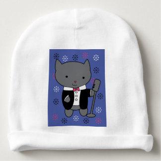 Jazz Singer Cat Baby Beanie