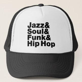 Jazz & Soul & Funk & Hip Hop Trucker Hat