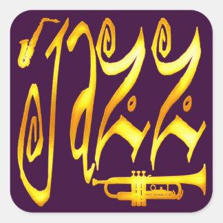 Jazz Square Stickers