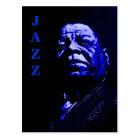 JAZZ - talk all Postcard
