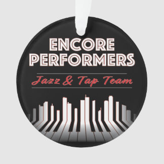 Jazz & Tap Team Ornament ACRYLIC