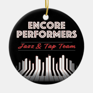 Jazz & Tap TEAM Ornament PORCELAIN