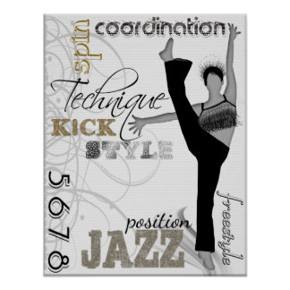 Jazz Technique Poster