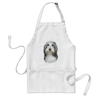 Jazz, the Bearded Collie Standard Apron