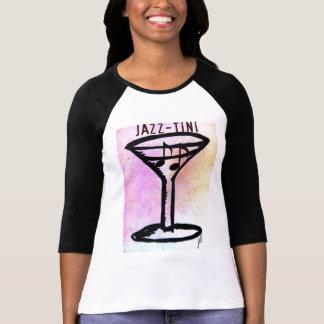 JAZZ-TINI print by jill Tshirts