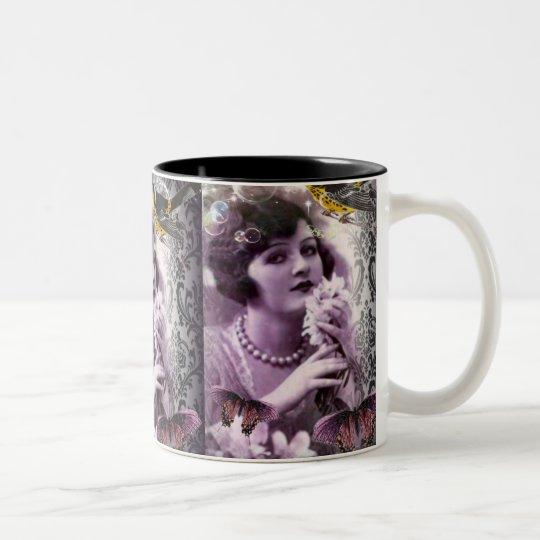 Jazz Vintage damask 1920s Lady Flapper Girl Paris