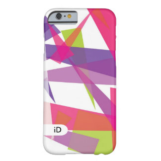 JAZZ | white and purple abstract Barely There iPhone 6 Case
