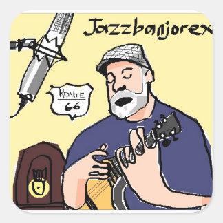 Jazzbanjorex Sticker