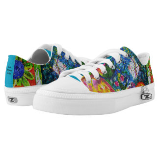 Jazzy Abstract Art Sneakers