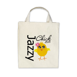 Jazzy Chick 1 Tote Bag