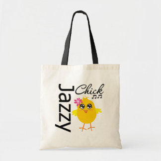 Jazzy Chick 1 Budget Tote Bag