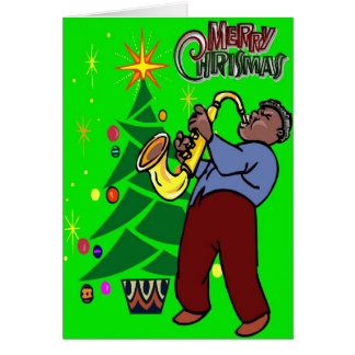 Jazzy Christmas Card