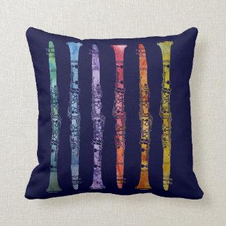 Jazzy Clarinet Pillow