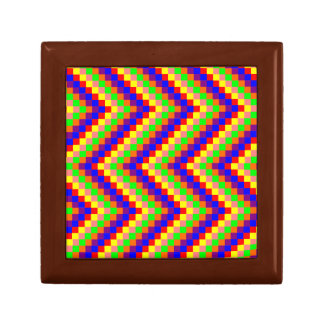 Jazzy Rainbow Blocks Gift Box