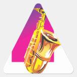 Jazzy Saxophone Sticker