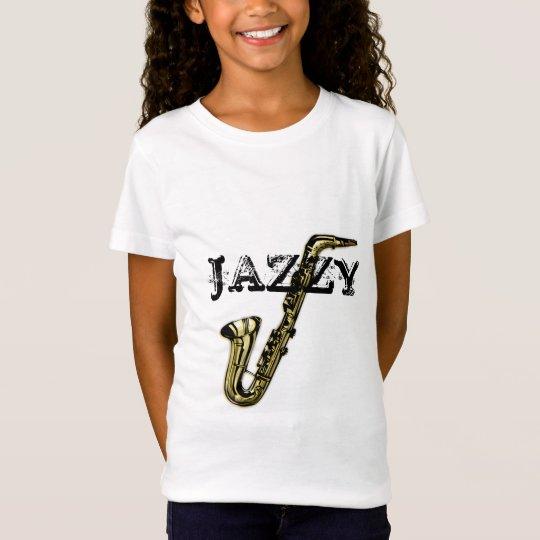 Jazzy Saxophone T-Shirt