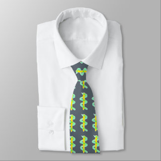 Jazzy Staff of Asclepius Medical Theme Tie Gray