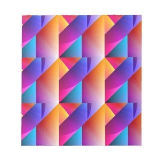 Jazzy Summer Pattern Notepad