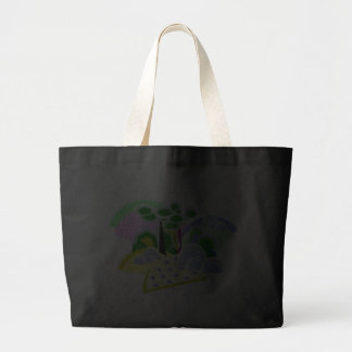 Jazzy Vista Jumbo Tote Bag